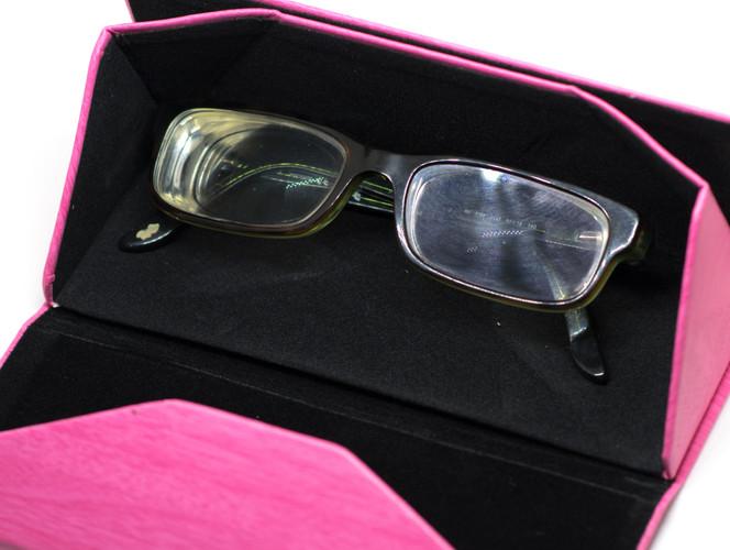 Pink Case Glasses