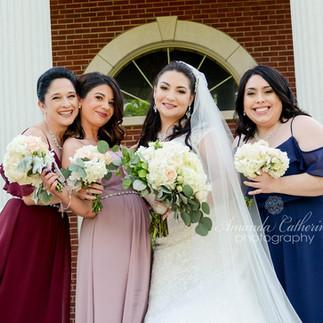 Wedding Party Makeup