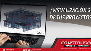 Visualización 3D de tus proyectos de Construsec