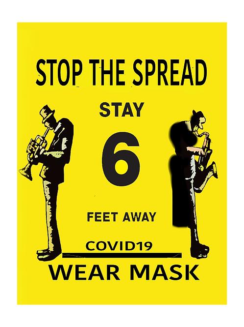 Stop the Spread Prints