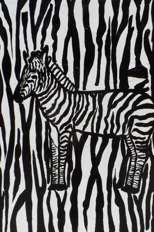 Wonder animals zebra 151