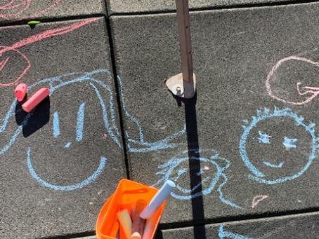 Merry Go Round Preschool - Artist - three years old