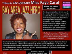 Jazz Hero Award Recipient