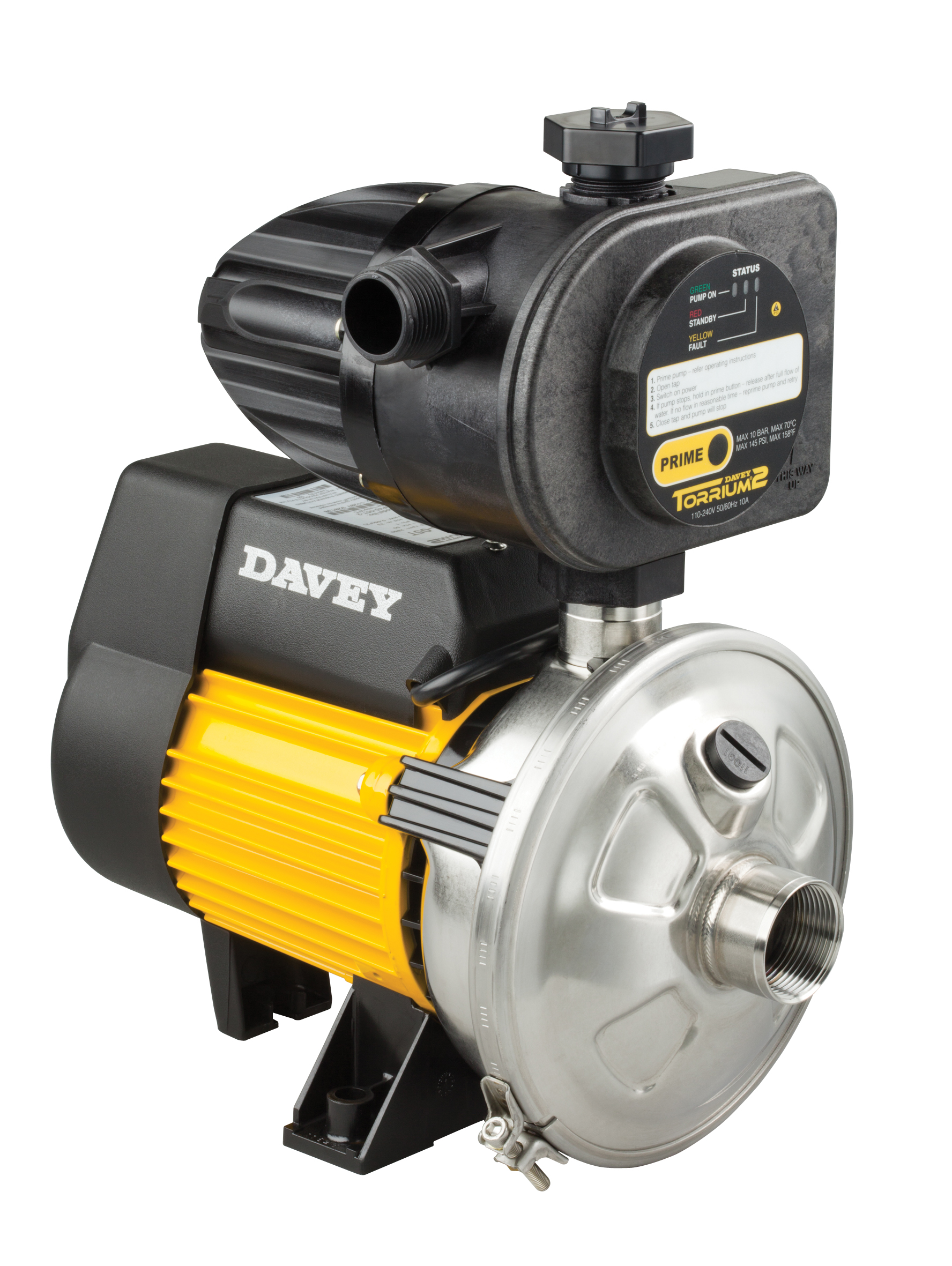 Water Pumps and Pressure Systems