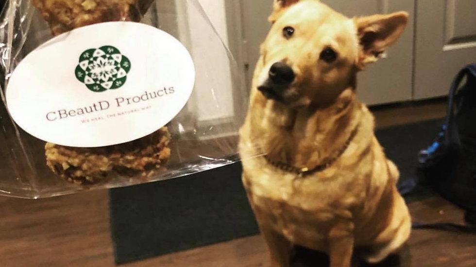 CBD PB + Banana Dog treats
