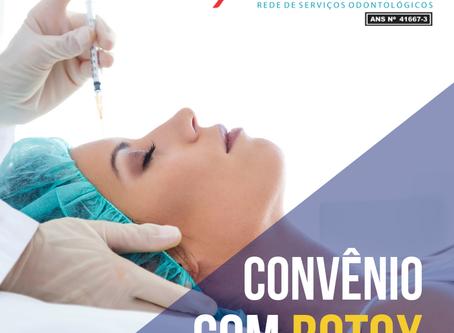 Grupo Odontoponta tem convênio para botox