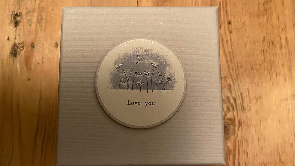 Scented, Tined and Boxed candle (Love You)