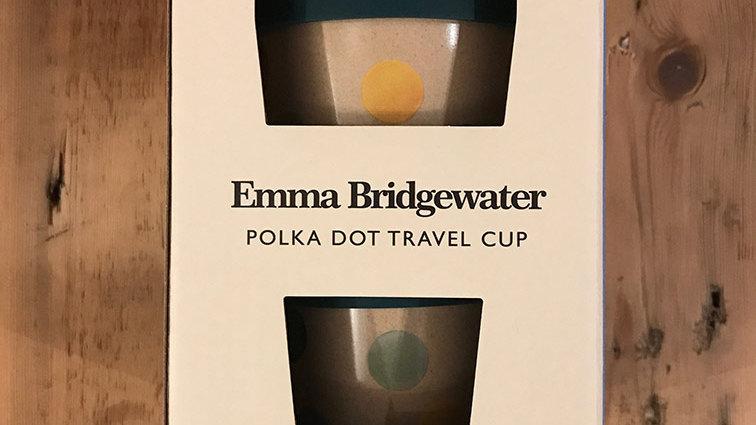 Polka Dot Travel Cup