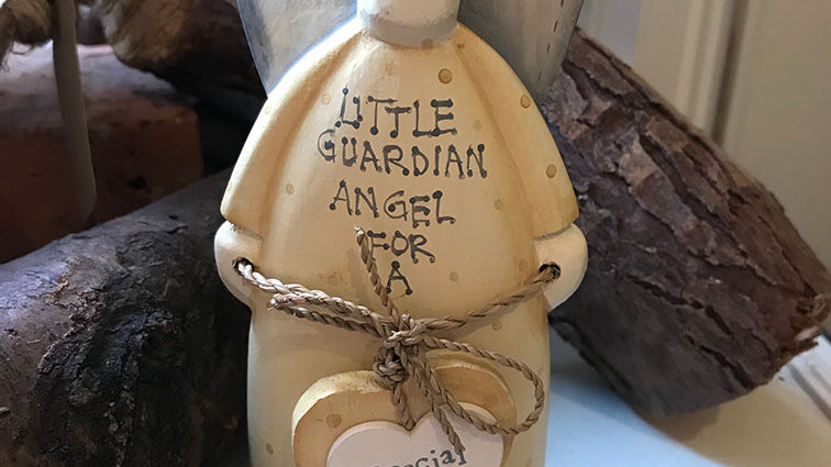 East of India Little Guardian Angel Special Daughter