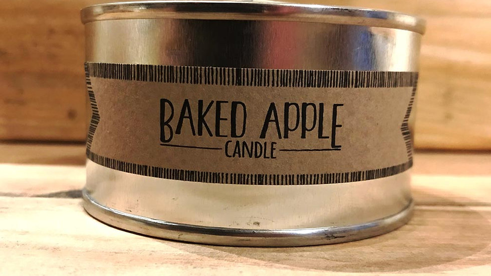 Tin candle (Baked Apple)
