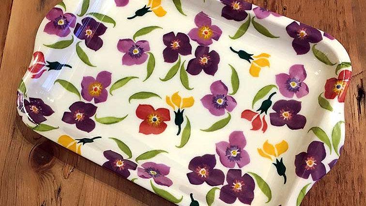 Small Melamine Tray (Wall Flower)