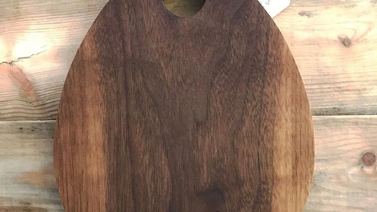 Handmade Solid Oak Teardrop Platter / Chopping Board (T002)