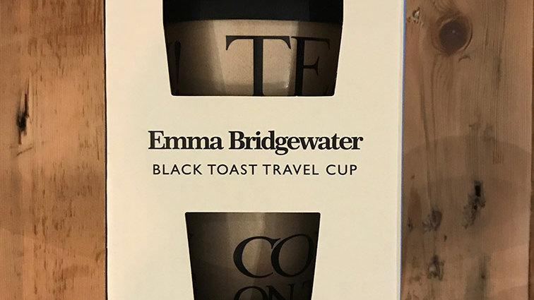 Black Toast Travel Cup