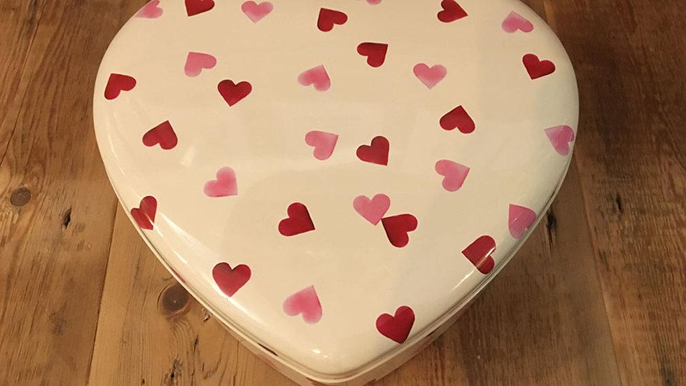 Emma Bridgewater Heart Shaped Tin