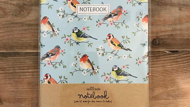 Garden Birds - Notebook