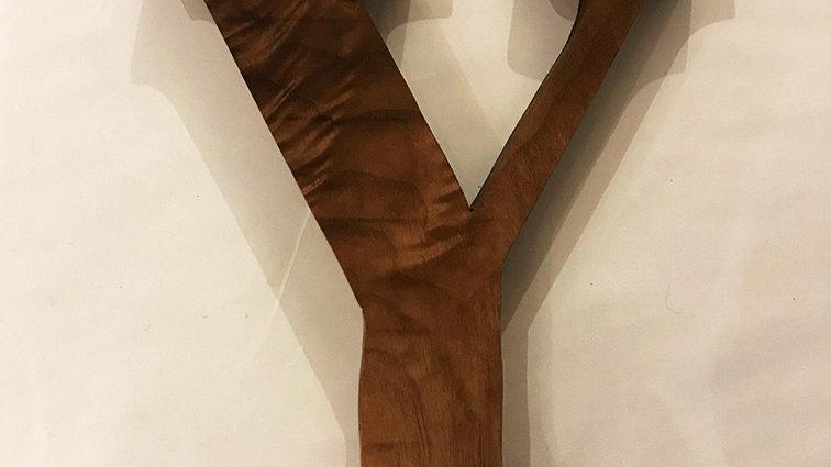 Wooden Letter 'Y'