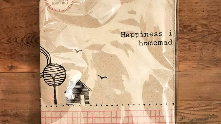 Happiness is Homemade - Apron 'East of India