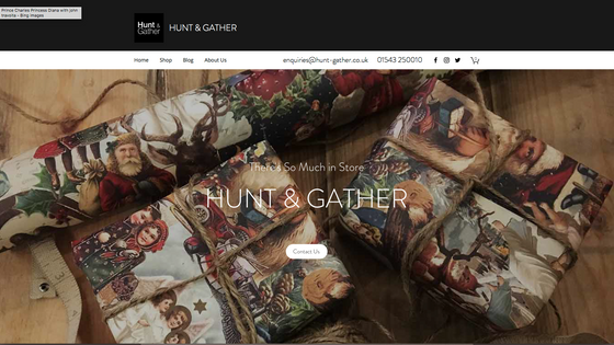 Hope you like the New Hunt and Gather Website...