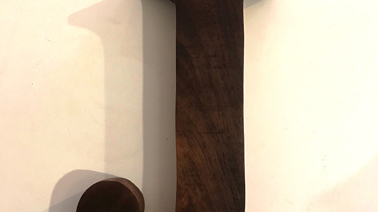 Wooden Letter 'J'