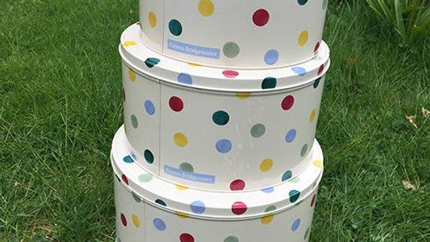 Emma Bridgewater - Polka Dot 'Cake Tins' set of three