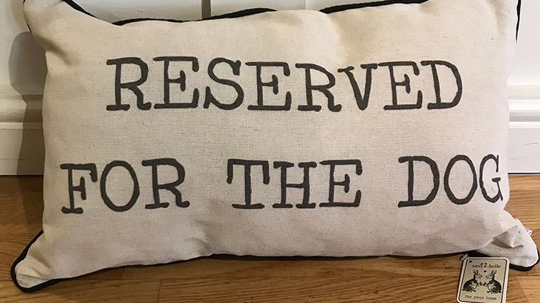 Reserved for the dog cushion (Sass & Belle)