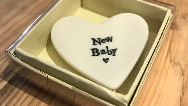 Small Porcelain Dish (New Baby)