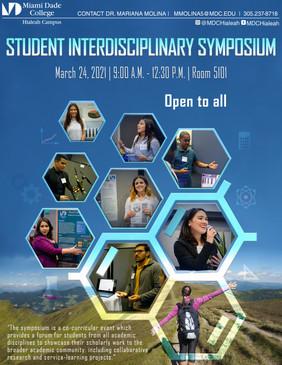 Student Interdisciplinary Symposium- Fly