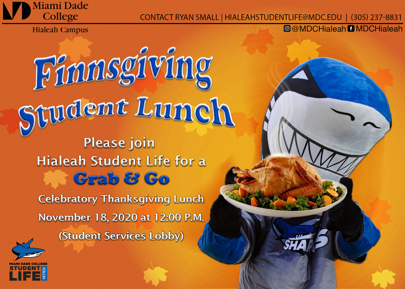 Finnsgiving Student Lunch Postcard-front