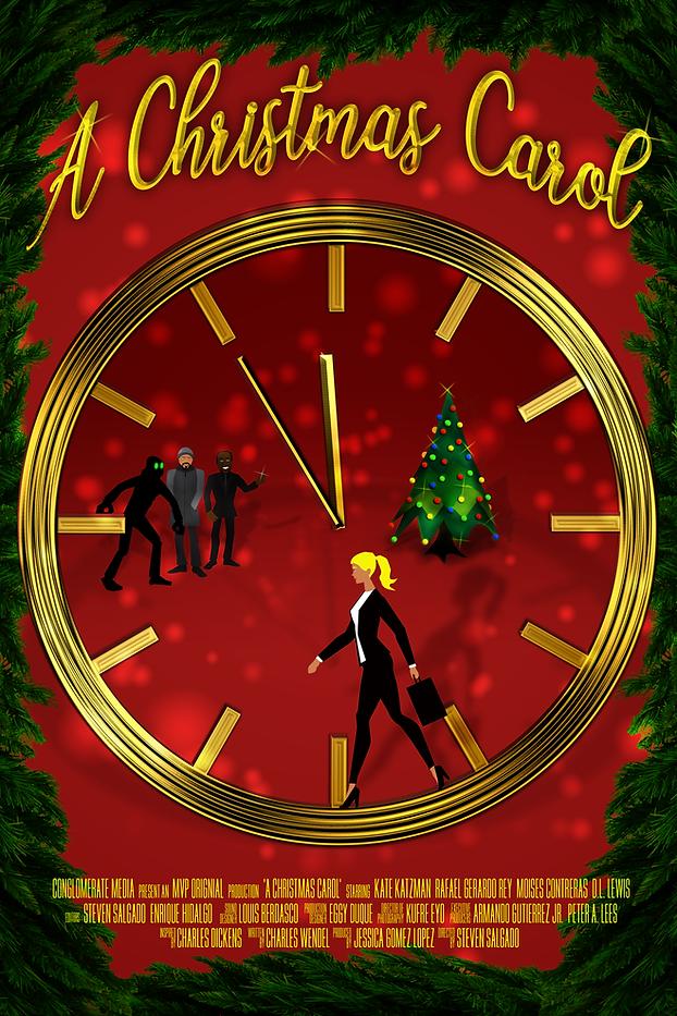 A Christmas Carol Poster CARTOON copy co