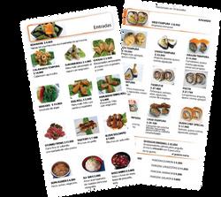 Sushi Chef menu and photos