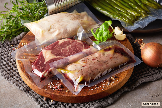 Duck%20breast%2C%20chicken%20breast%20and%20beef%20steak%20vacuum%20sealed%20ready%20for%20sous%20vi