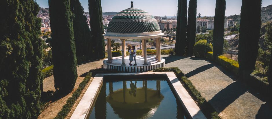 Dziś zabierzemy Was do Malagi w Andaluzji -  sesja narzeczeńska Oli i Michała