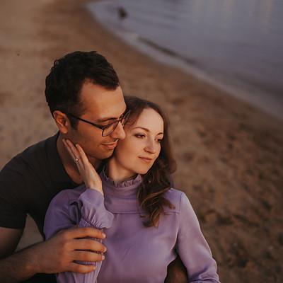Engagement session Anna & Gor