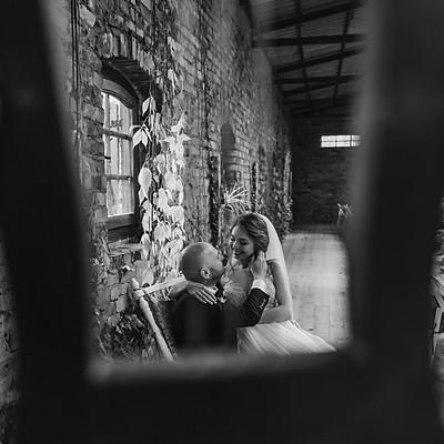 Ania & Jarek - sesja ślubna w Cicha 23