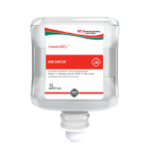 DEB InstantGEL Gel Alcohol Hand Sanitizer Liter Refill - 6 / Case