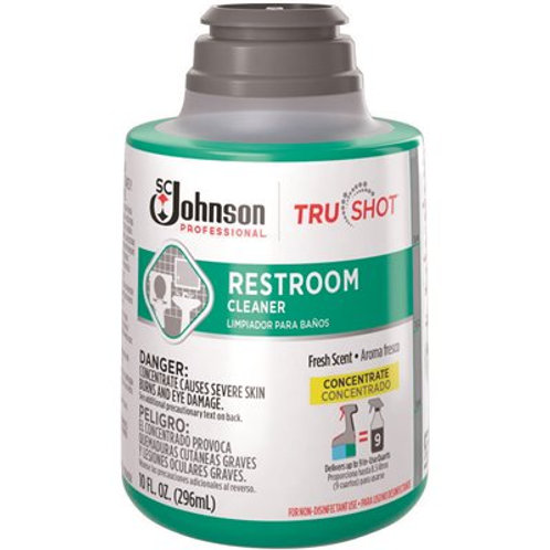 SC Johnson TruShot Restroom Cleaner 10oz Refill – 6 / Case