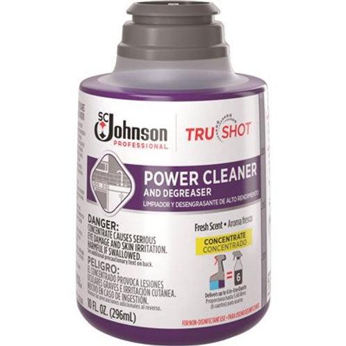 SC Johnson TruShot Power Cleaner & Degreaser 10oz Refill – 6 / Case