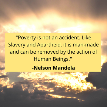 Poverty is not an accident. Like Slavery