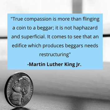 True compassion is more than flinging a
