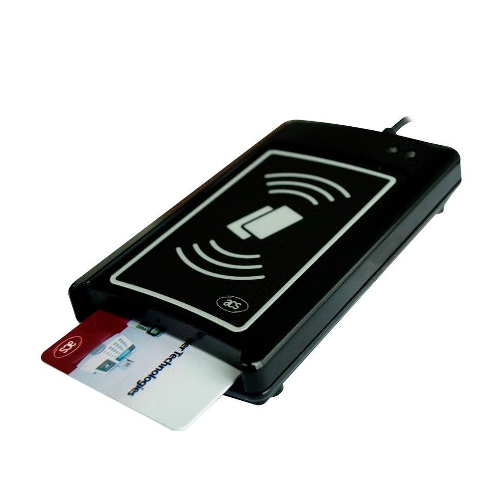 USB Dual-Interface Smart Card Reader