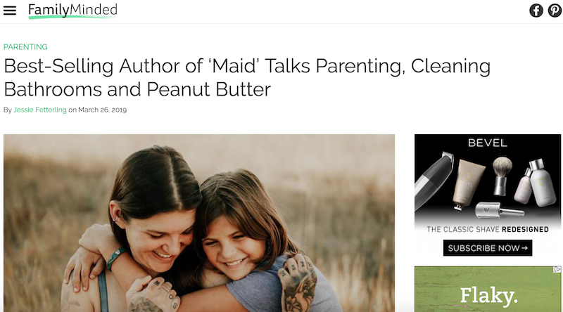Author of 'Maid' Talks Parenting