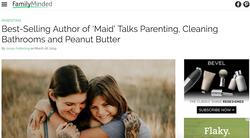 Author of 'Maid' Talks Parenting