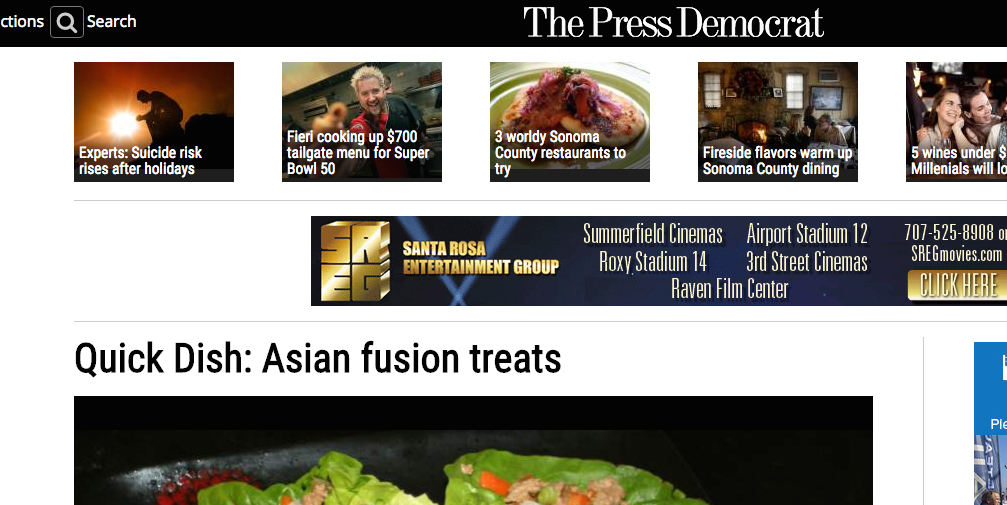 Quick Dish: Asian fusion treats
