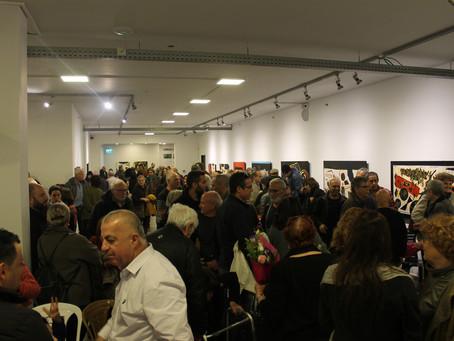 אירוע נעילה ושיח גלריה במקבץ תערוכות