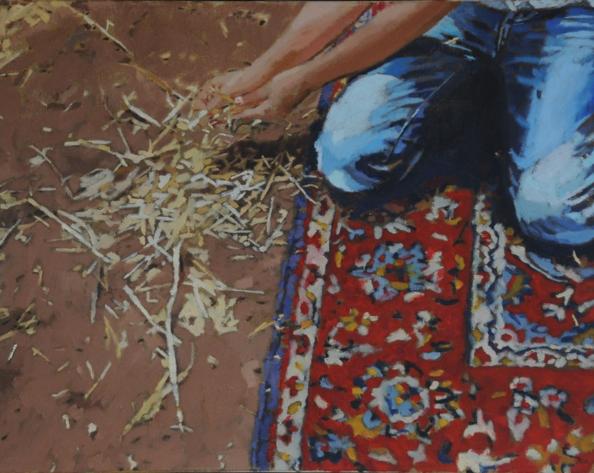From-the-series-Carpet-in-the-field-2013-oil-on-canvas.40x60-cm