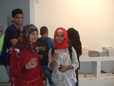 Be'er Sheva's group visit to Umm el fahem gallery