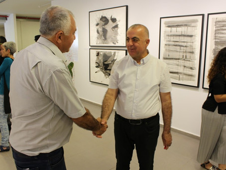 Opening of 7 several art exhibitions