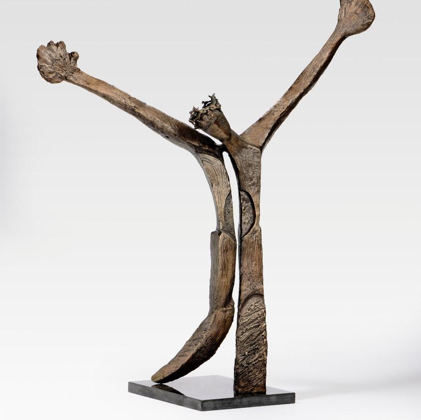 Sana Farah-Bishara, Untitled, 2018, bronze