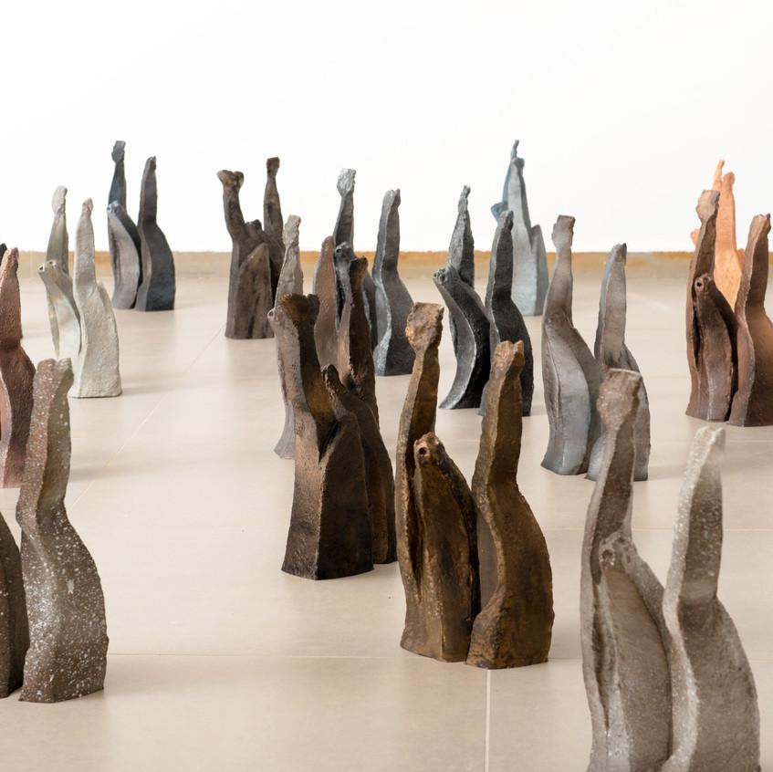 Sana Farah-Bishara, '48, 2018, installation view (2)