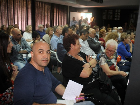 Evening attended by dozens of residents of Umm el-Fahm, Wadi Ara and all over the country, Jews and